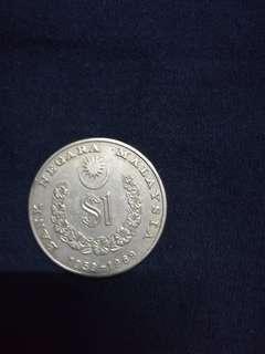Rm1 syiling lama..Gabenor pertama