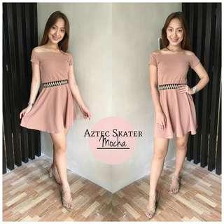 Aztec Skater Dress