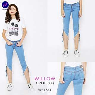 Jeans WILLOW Crop Destroy