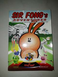 Sir Fong Adventures Book 4