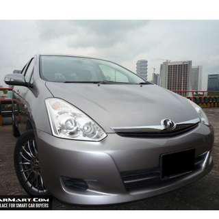 (New 5-yr COE) Toyota Wish 1.8A