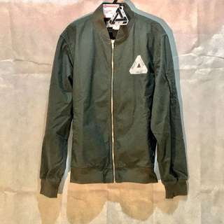Palace Cripstop Bomber Olive/White