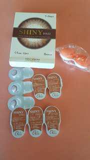 NEO Dali brown Daily lenses