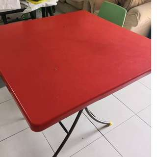 Square foldable table for sales