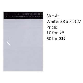 Polymailers INSTOCK!! White and Grey New Clearance!!