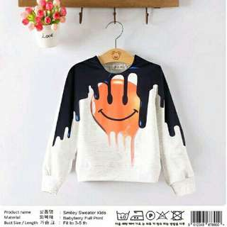 CS7014 Smiley sweater kids