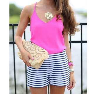 TERNO PINK TOP AND SHORT