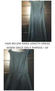 H&M Below Knee Length Dress