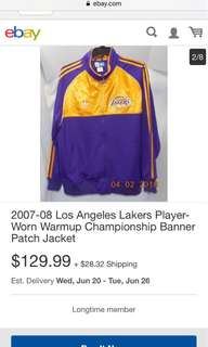 Lakers Banner Jacket
