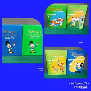 Disney World of English  6本