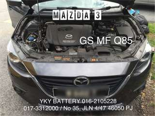 Kereta Bateri , GS Q85 , delivery & installation available