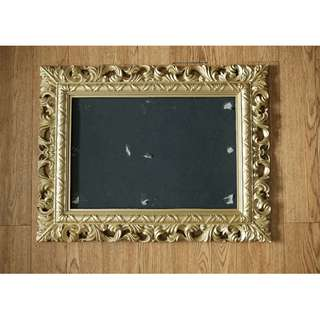 Used gold picture frame
