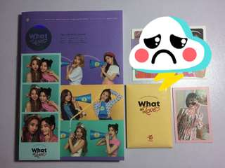 What Is Love Ver B Mina CD