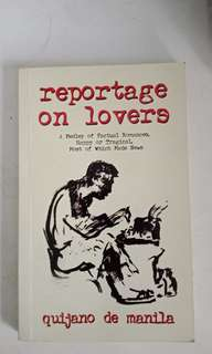 Reportage on Lovers by Quijano de Manila