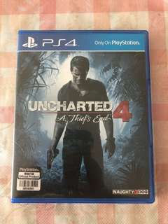 *Mint condition* Uncharted 4 PS4