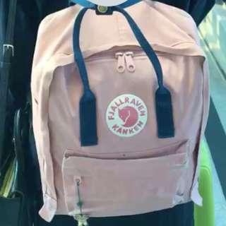Fjallraven Kanken Original Blue-Pink #kanopixcarousell