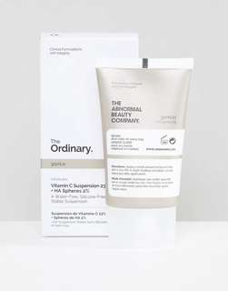 Cheapest on the way stock The Ordinary vitamin c suspension 23%+HA Spheres 2%