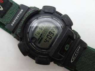 🚚 少見 1998 CASIO G-Shock DW-003 G-LIDE version nylon band 尼龍錶帶 防水 gshock
