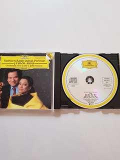 CD Kathleen Battle . Itzhak Perlman - J.S. Bach Arias