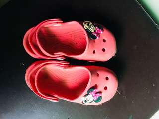 Minnie Mouse Crocs