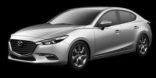 Car Rental Mazda 3 Private Hire Weekday Only