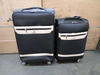 Pu leather 2in1 luggage
