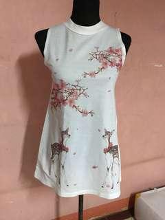 Preloved cherry blossom dress
