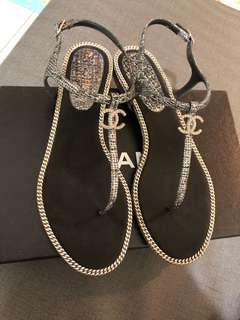 Chanel 涼鞋