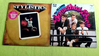 SHADOWS . somethin' else!! ● THE STYLISTICS . rockin' roll baby. ( buy 1 get 1 free ) vinyl record