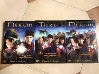 The adventures of Merlin (Harry potter meets smallville) Season 1. Volume 1, 2 & 3