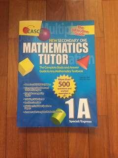Sec 1 Mathematics Study Guide
