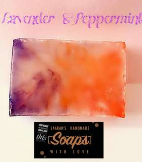 🚚 Lavender & Peppermint Soap (Free 3 Ebooks With Every Purchase)