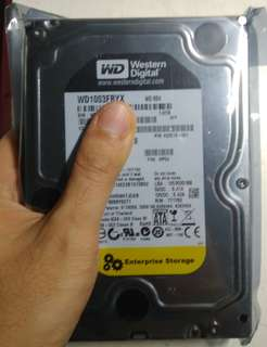 Western Digital WD WD1003FBYX 1TB 7200RPM 64MB Enterprise SATA Hard Drive