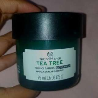Tea Tree Skin Clearing Night Mask The Body Shop