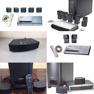 徵收 Bose lifestyle 5.1 音響系統