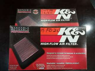 K&N Filter Civic FB