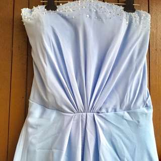 Lt. Blue Gown (XL)