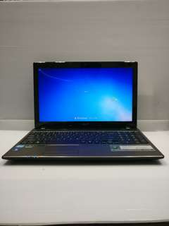 [NVIDIA i3 4GB] Acer Aspire 5750G i3-2310M 4GB Ram 500GB HDD (With Charger/Bag/Mouse)
