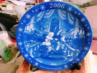 迪士尼紀念盤 / 米奇米妮紀念盤(附展示立架)