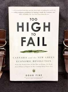《New Book Condition + Legalizing Cannabis is Actually Helping Slumping American Economy If Regulated Correctly》Doug Fine - TOO HIGH TO FAIL: Cannabis and the New Green Economic Revolution