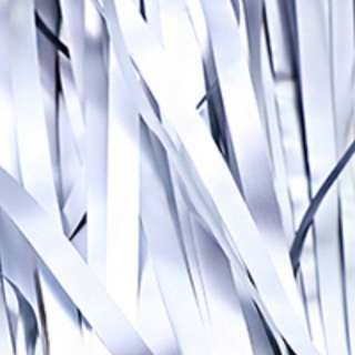 Matte Metallic Tinsel Curtain 1m(W) x 3m(L) - Silver