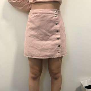 Velvet Pink H&M Skirt