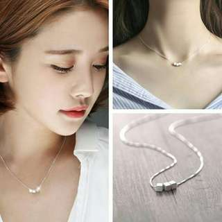 925 Silver Plated Fashion Necklace