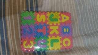 Mini puzzle a-z 1-9