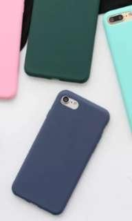 IPhone 6s 手機深藍色全包邊軟殼