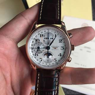 Longines Master Collection Chronograph Swiss Engine 7750