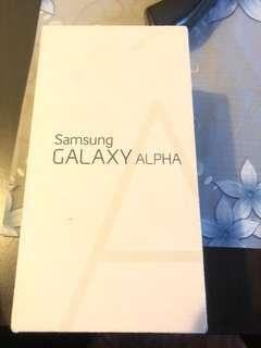 Galaxy Alpha 32gb new