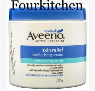 Aveeno Skin Relief Moisturising Cream312g w/ cooling action