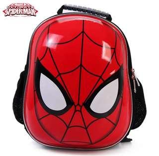 Spider Man蜘蛛俠3D立體防水護脊小童背囊背包
