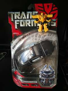 Transformers premium series barricade (bumblebee not Included)